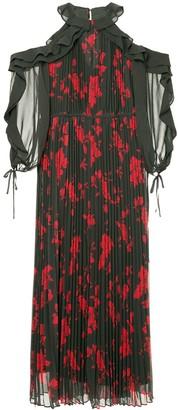 Self-Portrait floral printed dress