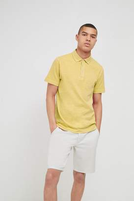 French Connection Multi Slub Polo Shirt