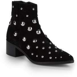Kenneth Cole Barston Studded Ankle Boots