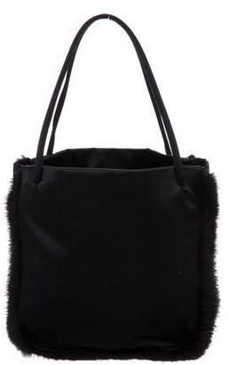 Prada Mink Fur Handle Bag