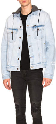 Off-White Denim Hooded Jacket