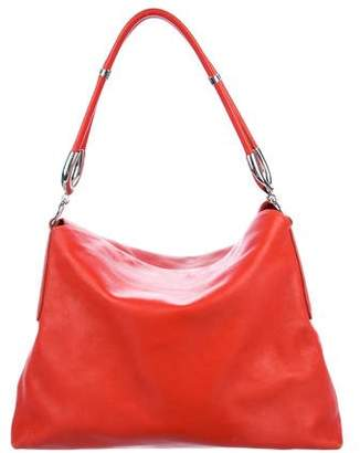 Hogan Leather Hobo