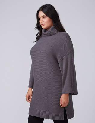 Fast Lane Cowl-Neck Tunic Sweater