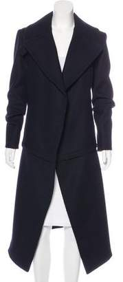 Celine Wool Peak-Lapel Coat
