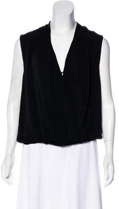 Haute Hippie Silk Sleeveless Blouse