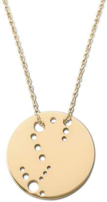Ekria - Scorpio Zodiac Necklace Shiny Yellow Gold