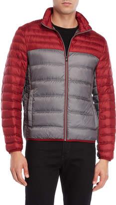 Michael Kors Color Block Packable Down Jacket