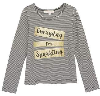 Truly Me I'm Sparkling Glitter Graphic Tee