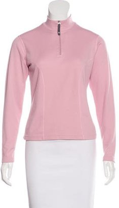 The North Face Zip-Up Mock Neck Sweater $65 thestylecure.com