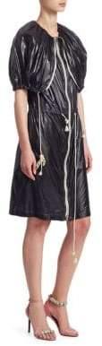 Calvin Klein Nylon Zip-Front Dress