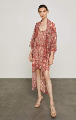 BCBGMAXAZRIA Palace Tapestry High-Low Dress