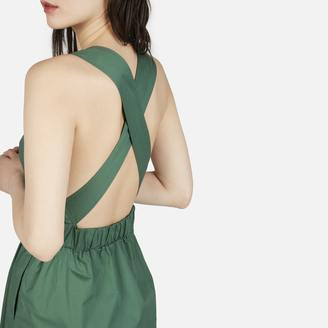 The Clean Cotton Cross-Back Dress $98 thestylecure.com