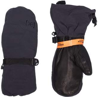 Burton Ak black GORE-TEX 3L Hover Mitten leather gloves