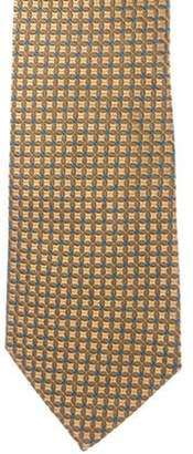 Tiffany & Co. Silk Jacquard Tie yellow Silk Jacquard Tie