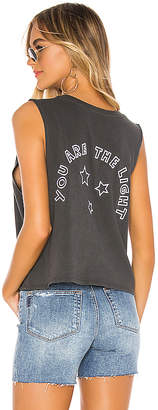 Spiritual Gangster Light Deep V Neck Tank