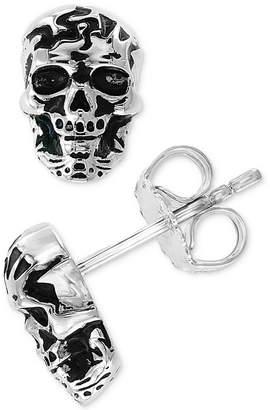 Effy Men's Skull Stud Earrings in Sterling Silver