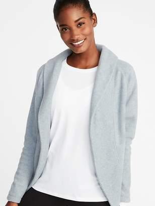 Old Navy Micro Performance Fleece Cocoon Wrap Jacket for Women