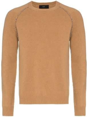 78 Stitches Aztec elbow print cashmere sweater