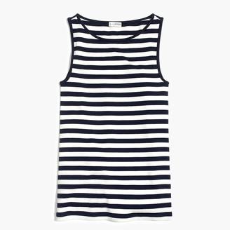 J.Crew Striped open-neck cami top