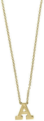 Effy 14K Yellow Gold Large Initial Necklace