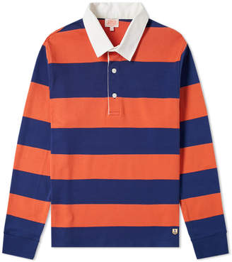 Armor Lux Armor-Lux 76886 Long Sleeve Stripe Rugby Shirt