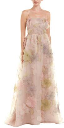 Valentino Floral Silk Gown