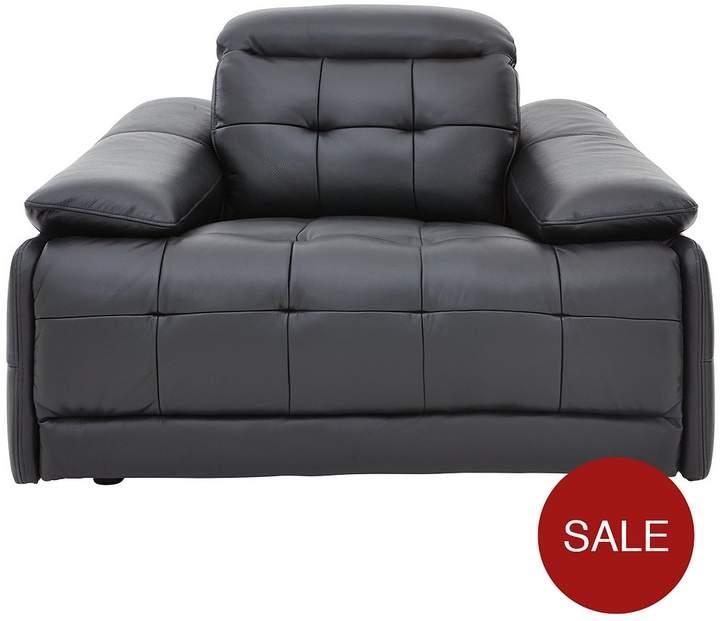 Ellis Premium Leather Power Recliner Armchair