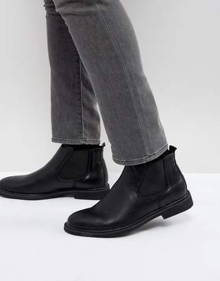 Brave Soul Chelsea Boots In Black