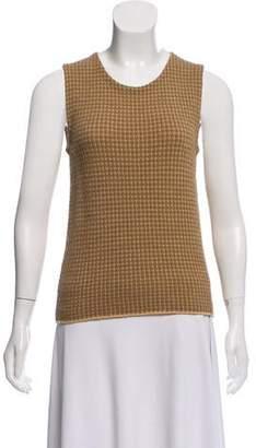 Armani Collezioni Wool Blend Knit Top