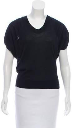 Derek Lam Short Sleeve Cashmere Top