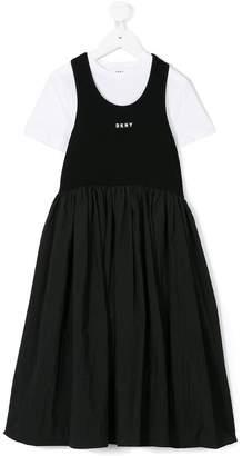 DKNY layered dress