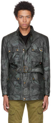 Belstaff Grey Waxed Road Master BXS Jacket