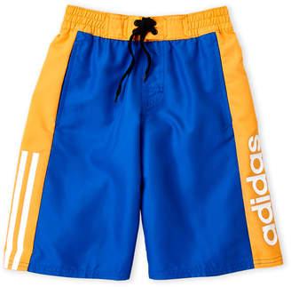 adidas Boys 8-20) Color Block Board Shorts