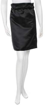 Ter Et Bantine Satin Knee-Length Skirt w/ Tags