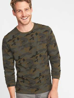 Old Navy Soft-Washed Crew-Neck Camo Tee for Men