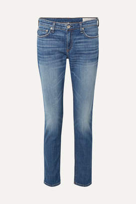 Rag & Bone Dre Slim Boyfriend Jeans - Mid denim