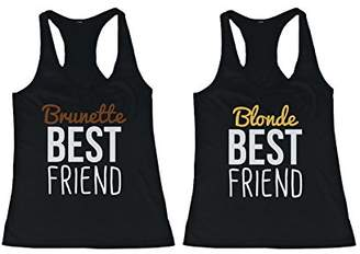 Love 365 Printing Cute Brunette and Blonde Best Friend Tank Tops - Matching BFF Tanks