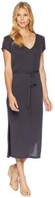 Lucky Brand Button Sleeve Knit Dress Women's Dress