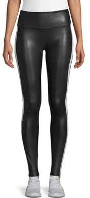 Spanx Striped Pull-On Leggings