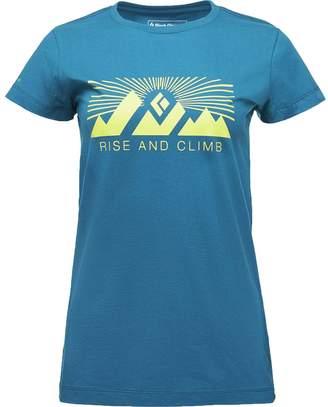 Black Diamond Rise And Climb Short-Sleeve T-Shirt - Women's