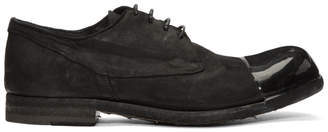 Officine Creative Black Bubble Derbys