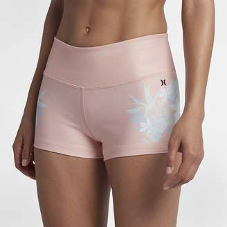 "Hurley Floreal Women's 2"" Surf Shorts"
