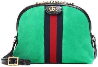 Gucci Ophidia suede crossbody bag