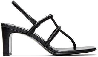 Dorateymur Black Thong Sandals