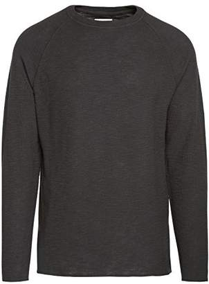 Life After Denim Men's Long Sleeve Craftsman Crew Neck Thermal T-Shirt
