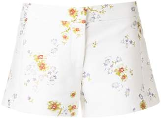 Giambattista Valli floral-brocade shorts