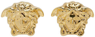 Versace Gold Small Medusa Earrings