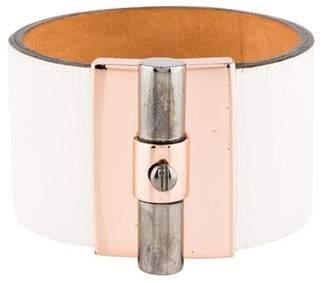 Reed Krakoff T-Bar Leather Bracelet