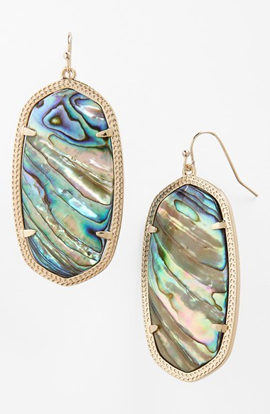 Women's Kendra Scott Danielle - Large Oval Statement Earrings