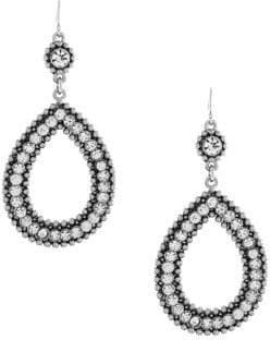 Jessica Simpson Crystal Dangle & Drop Earrings